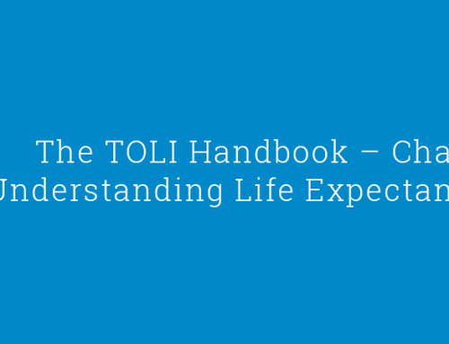The TOLI Handbook – Chapter 15: Understanding Life Expectancy Reports